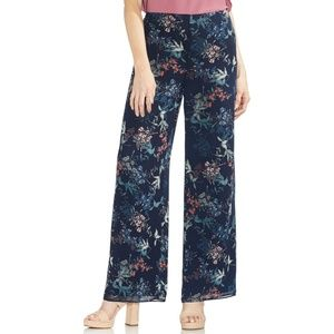 Garden Heirloom Floral Wide-Leg Pants  VINCE CAM